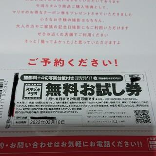 Kitamura - スタジオマリオ 無料お試し券