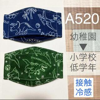 インナーマスク 恐竜 2枚 A520