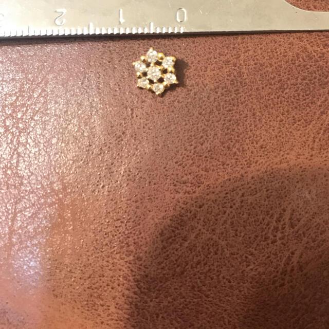 薔薇様専用 ★K18 ダイヤモンドペントップ レディースのアクセサリー(ネックレス)の商品写真