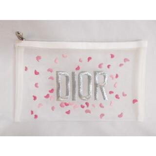 Christian Dior - 新品未使用本物 Christian Dior ディオール ポーチ メッシュ