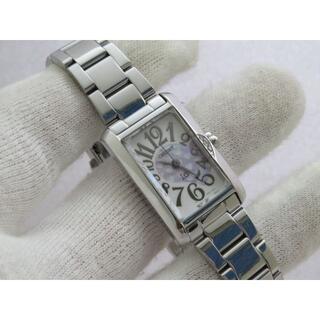 ORIENT - ORIENT io 腕時計 レクタンギュラー 素敵なシェル文字盤