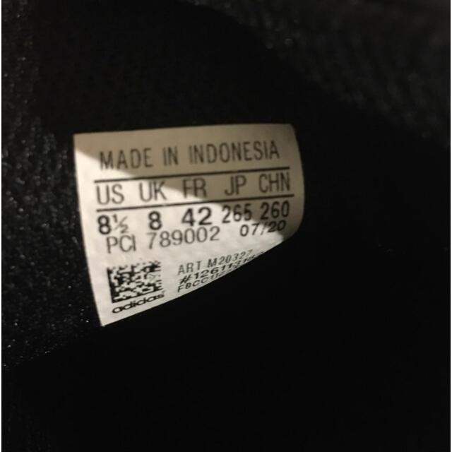adidas(アディダス)の美品 adidas アディダス スタンスミス 26.5 黒 ブラック メンズの靴/シューズ(スニーカー)の商品写真