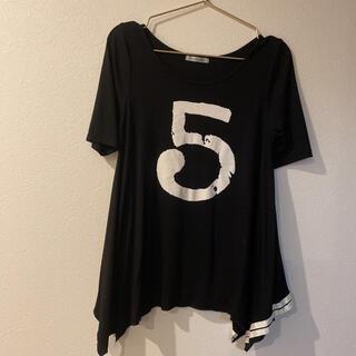 スコットクラブ(SCOT CLUB)のスコットクラブ*ブラック ロゴTシャツ カットソー(Tシャツ(半袖/袖なし))
