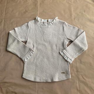 petit main - プティマイン テレコTシャツ 110
