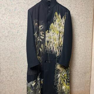 Yohji Yamamoto - yohjiyamamoto19aw 金刺繍獣コート