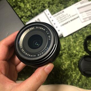 富士フイルム - FUJIFILM XF18mmF2 R レンズ