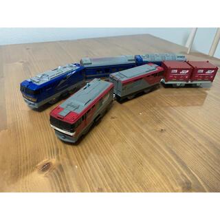 タカラトミー(Takara Tomy)のプラレール EF510&EH500電気機関車セット(電車のおもちゃ/車)