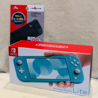 Nintendo Switch - 【新品】Nintendo Switch Lite ターコイズ(フィルム付き)