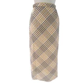 COCO DEAL - COCODEAL オーガンジーサッカーチェックバイアススカート 美品