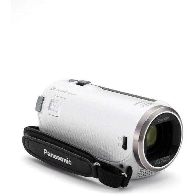 Panasonic(パナソニック)の〓新品〓パナソニック〓HDビデオカメラ〓高倍率90倍〓HC-V480MS-W〓 スマホ/家電/カメラのカメラ(ビデオカメラ)の商品写真