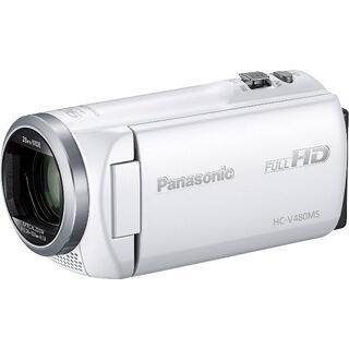 Panasonic - 〓新品〓パナソニック〓HDビデオカメラ〓高倍率90倍〓HC-V480MS-W〓