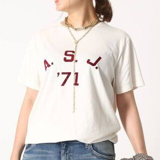 DEUXIEME CLASSE - 21AW 新品【REMI RELIEF/レミ リリーフ】 A.S.J Tシャツ