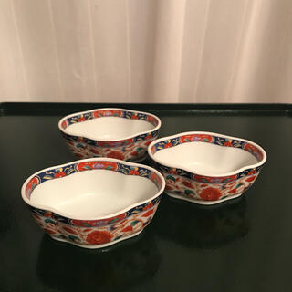 【高級】京紫龍峰 小鉢 珍味鉢 珍味入れ 龍峰窯  龍峯 3個セット