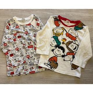 スヌーピー(SNOOPY)のスヌーピー 長袖 95(Tシャツ/カットソー)