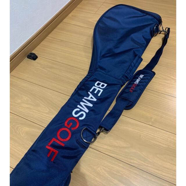 BEAMS(ビームス)のbeams golf クラブケース(ネイビー) スポーツ/アウトドアのゴルフ(バッグ)の商品写真