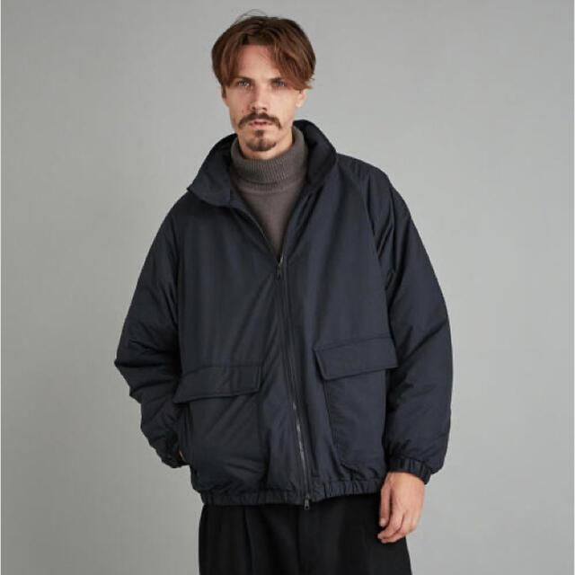 steven alan(スティーブンアラン)の<Steven Alan> PE RIP PUFF BLOUSON ブラック メンズのジャケット/アウター(ブルゾン)の商品写真