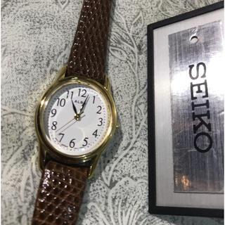 ALBA - ★ セイコー ALBA ホワイトフェイス レディース 腕時計 ★ 美品