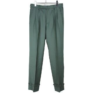 コモリ(COMOLI)のDAIRIKU 20AW Deck Detail Wool Slacks パンツ(スラックス)