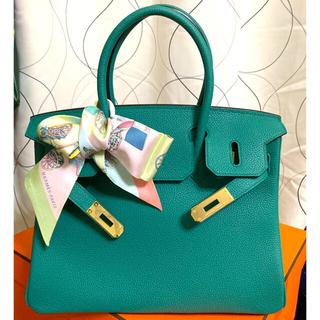トゴレザー オールハンドメイド 手縫い ハンドバッグ 30(ハンドバッグ)