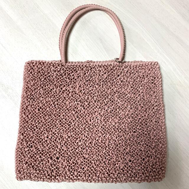 ANTEPRIMA(アンテプリマ)の専用 アンテプリマ   ラージ マットパウダリーピンク ワイヤーバッグ レディースのバッグ(トートバッグ)の商品写真