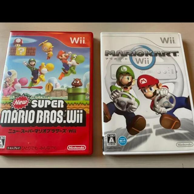 Wii(ウィー)のマリオ マリカー スーパーマリオ エンタメ/ホビーのゲームソフト/ゲーム機本体(家庭用ゲームソフト)の商品写真