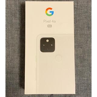 Google Pixel - google pixel 4a 5g 128GB SIMフリー 白 ホワイト