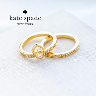kate spade new york - 【新品♠本物】ケイトスペード エタニティ2連リング