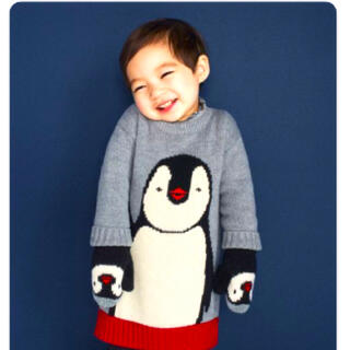 babyGAP - GAP ベビー ペンギン ニットワンピース