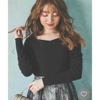 Noela - 【新品】Noela カシュクールパワショルニット