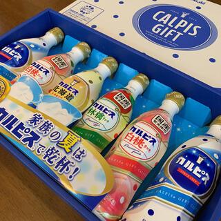 新品 カルピス6本 詰合せギフト 白桃 りんご