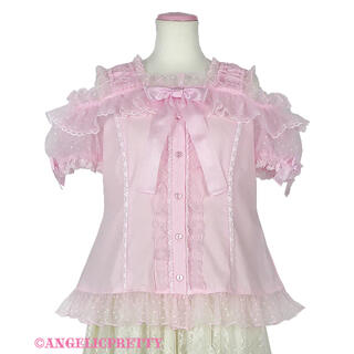 Angelic Pretty - Angelic Pretty Lovely Frill ブラウス ピンク