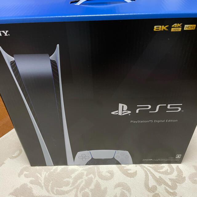 PlayStation(プレイステーション)のPS5 楽天ブックス購入分 デジタルエディション エンタメ/ホビーのゲームソフト/ゲーム機本体(家庭用ゲーム機本体)の商品写真