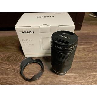 TAMRON - 【値下】TAMRON 28-75mm F/2.8Di III RXD A036