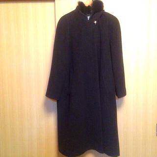 swallow coat黒ロングコート(ロングコート)