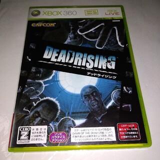 エックスボックス360(Xbox360)のXBOX 360 ソフト デッド ライジング XB360 ゾンビ アクション(家庭用ゲームソフト)