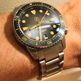 希少 Zelos オールチタン製 腕時計 ダイバーズウオッチ 世界限定400本