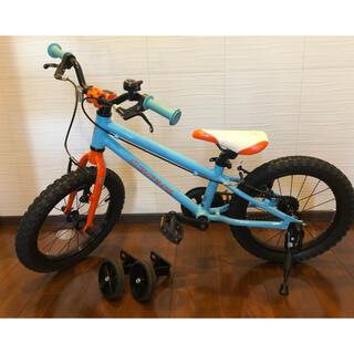 ルイガノ(LOUIS GARNEAU)のヨツバサイクル 16インチ TETEヘルメット付き(自転車本体)