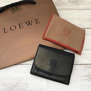 LOEWE - 【本革】LOEWE ロエベ メンズ レディース コンパクトウォレット 折り財布