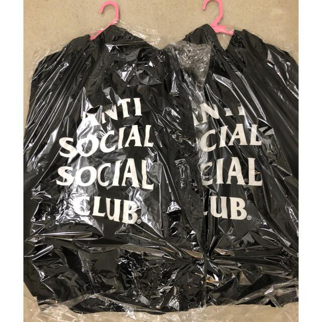 アンチソーシャルソーシャルクラブ パーカーXL  2個セット メンズのトップス(パーカー)の商品写真