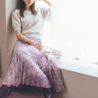 PROPORTION BODY DRESSING - 【新品未使用タグつき】チェックプリーツスカート
