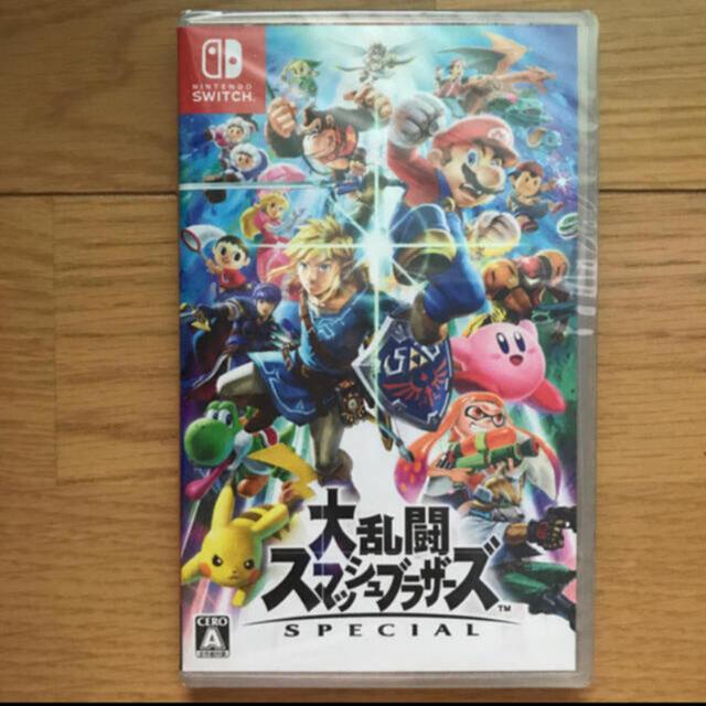 Nintendo Switch(ニンテンドースイッチ)の任天堂スイッチ ソフト スマブラ エンタメ/ホビーのゲームソフト/ゲーム機本体(家庭用ゲームソフト)の商品写真