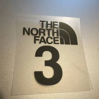 THE NORTH FACE - THE NORTH FACE3 march カッティングシート