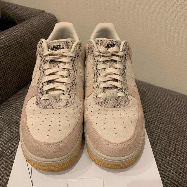 NIKE(ナイキ)の早い者勝ち!Nike Air force1  ID 限定パイソン柄 メンズの靴/シューズ(スニーカー)の商品写真