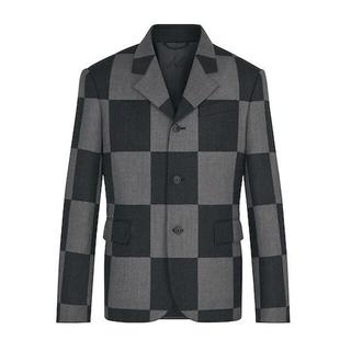 LOUIS VUITTON - ルイ・ヴィトン NIGO ジャイアントダミエ3-ボタンジャケット スーツ