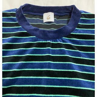 ビューティアンドユースユナイテッドアローズ(BEAUTY&YOUTH UNITED ARROWS)のROKU ベロア(Tシャツ(長袖/七分))