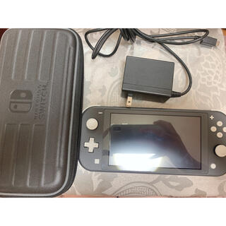 Nintendo Switch - 【値下げ最後】Switchライト本体 グレー