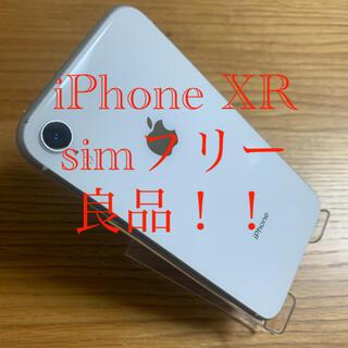 iPhone - [最安値]iPhoneXR simフリー 良品!!