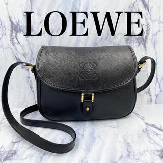 LOEWE - 【極美品】オールドロエベ★ヴィンテージ ショルダーバッグ ハーフムーン レザー