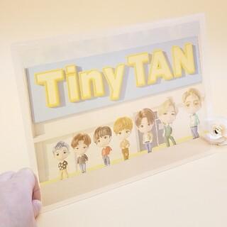 防弾少年団(BTS) - 大人気💛新作💜BTS バンタン Dynamit Tiny TAN 透明下敷き