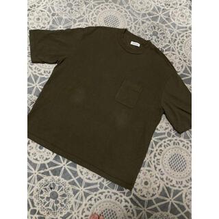 マーカウェア(MARKAWEAR)のutility garments ユーティリティーガーメンツ オリーブTシャツ(Tシャツ/カットソー(半袖/袖なし))
